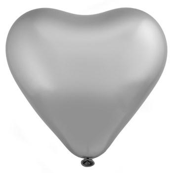 "Э 12"" Сердце/803 Хром Сатин Platinum - фото 12534"