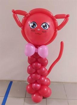 Бесподобная кошечка из шариков - фото 44815