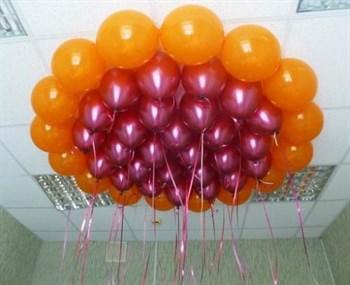 Чудесный круг из шаров для розового хрома - фото 44902